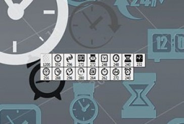 دانلود براش های فتوشاپ ساعت