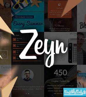 دانلود پوسته وردپرس چند منظوره Zeyn