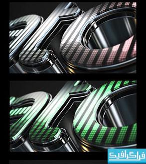 دانلود پروژه افتر افکت لوگوی سه بعدی LED