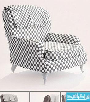 دانلود مدل سه بعدی صندلی راحتی - شماره 3