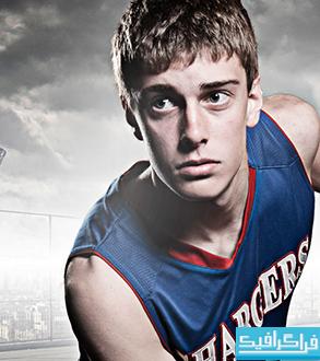 آموزش فتوشاپ ساخت تصویر ترکیبی بازیکن بسکتبال