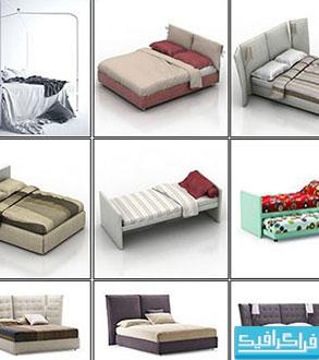 دانلود مدل های سه بعدی تختخواب