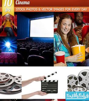 دانلود تصاویر استوک سالن سینما - شماره 2