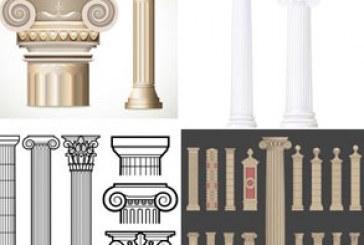 دانلود وکتور های ستون – طرح کلاسیک
