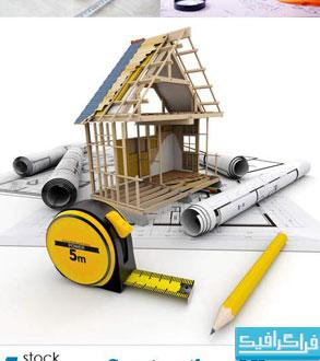دانلود تصاویر استوک ساخت خانه
