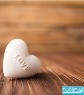 دانلود والپیپر قلب عاشقانه