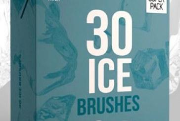 دانلود براش های فتوشاپ یخ