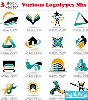 دانلود لوگو های مختلف لایه باز - شماره 71
