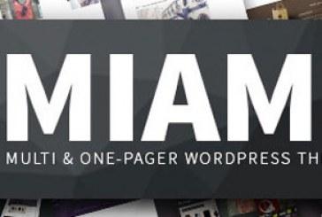 دانلود پوسته وردپرس تک و چند صفحه ای Miami