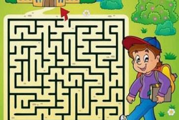 دانلود وکتور طرح های بازی مارپیچ کودکان