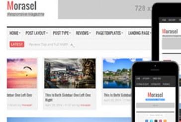 دانلود قالب سایت HTML خبری و مجله Morasel