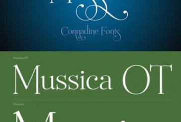 دانلود فونت انگلیسی Mussica