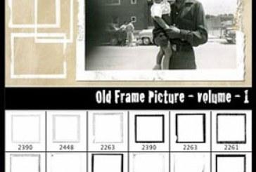 دانلود براش های فتوشاپ قاب عکس قدیمی
