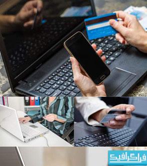 دانلود تصاویر استوک خرید آنلاین