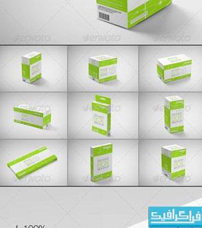 دانلود ماک آپ های جعبه محصولات