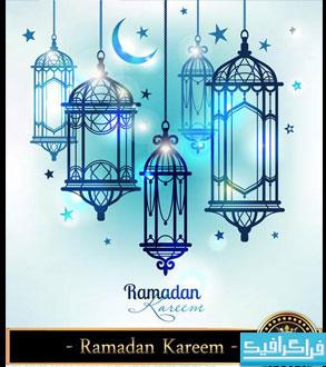 وکتور های ماه مبارک رمضان - شماره 3