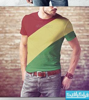 دانلود ماک آپ های تی شرت مردانه
