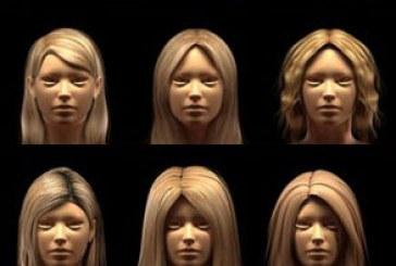 دانلود مدل های سه بعدی موی زن