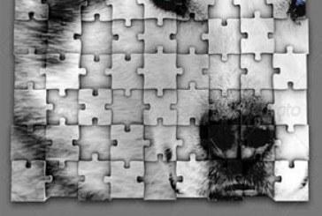 دانلود فایل لایه باز قالب پازل سه بعدی