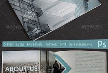 دانلود فایل لایه باز بروشور معماری