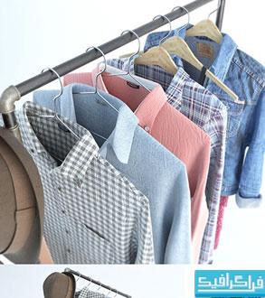 دانلود مدل های سه بعدی لباس و کفش