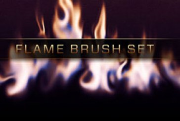 دانلود براش های فتوشاپ شعله آتش – شماره 3