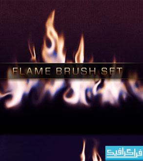 دانلود براش های فتوشاپ شعله آتش - شماره 3