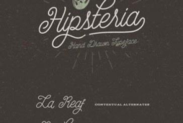 دانلود فونت انگلیسی Hipsteria