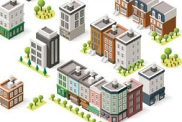 دانلود وکتور ساختمان های ایزومتریک