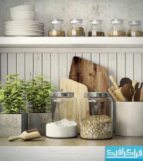 مدل های سه بعدی وسایل آشپرخانه - شماره 2