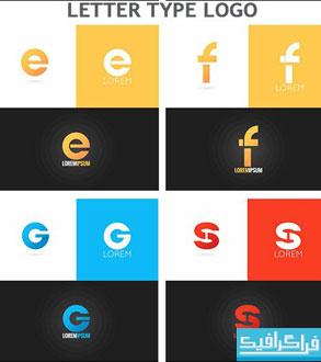 دانلود لوگو های حروف انگلیسی - شماره 3