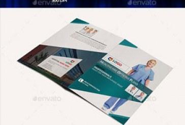 دانلود فایل لایه باز بروشور پزشکی