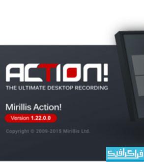 نرم افزار فیلمبرداری از صفحه نمایش Mirillis Action 1.2