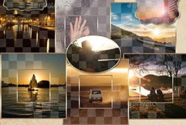 فایل لایه باز قالب قاب های عکس – شماره 6