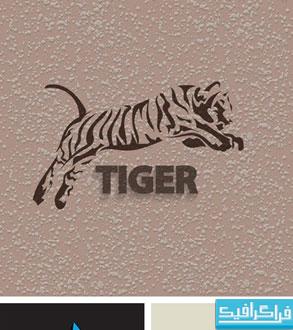 دانلود لوگو های حیوانات - طرح سایه