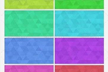 دانلود پترن های فتوشاپ زمینه مثلثی