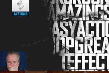 اکشن فتوشاپ ساخت افکت تایپوگرافی – شماره 3