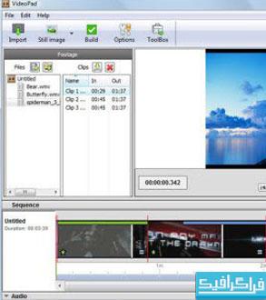 دانلود نرم افزار ویرایشگر تصاویر VideoPad