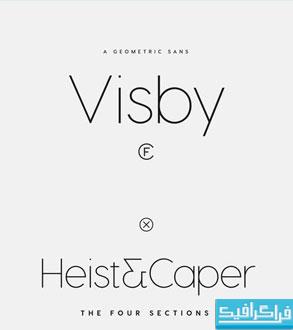 دانلود فونت های انگلیسی Visby