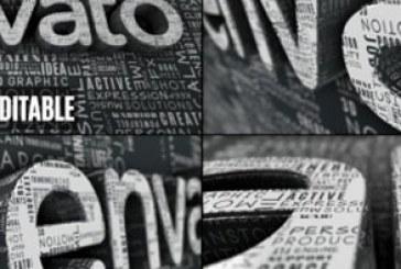 دانلود پروژه افتر افکت لوگوی کلمات