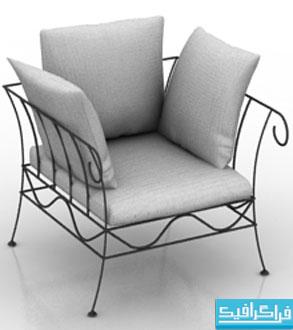 دانلود مدل سه بعدی صندلی راحتی - شماره 4