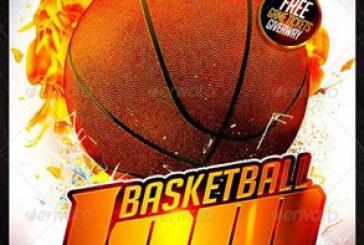 فایل لایه باز پوستر بسکتبال – شماره 2