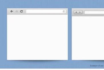 دانلود فایل لایه باز پنجره مرورگر اینترنت