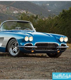 دانلود والپیپر اتومبیل Corvette 1961