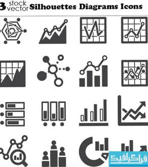 دانلود آیکون های نمودار Diagram Icons - شماره 3