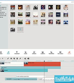 دانلود نرم افزار ویرایش ویدئو Filmora 6.6