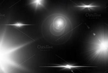 دانلود براش های فتوشاپ نور لنز و ستاره