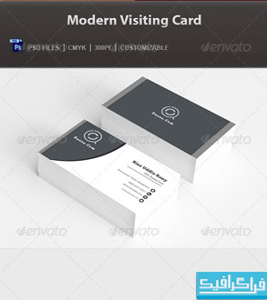دانلود کارت ویزیت مدرن شرکتی – شماره 6