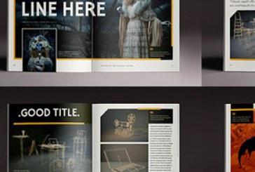 فایل لایه باز ایندیزاین مجله چند منظوره – شماره 3