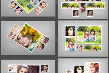 فایل لایه باز قالب قاب های عکس – شماره 7